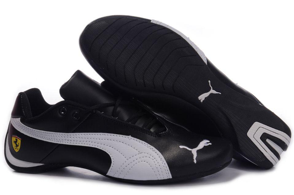 chaussures puma cuir